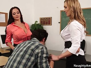 Ava Addams & Tanya Tate & Giovanni Francesco regarding My Pre-eminent Sexual relations School