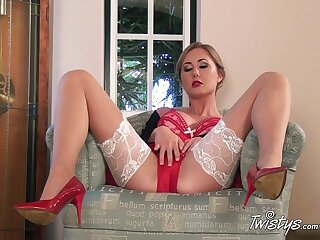 TwistysNetwork Video: Someone's outer White-hot With an increment of Someone's outer Hyacinthine