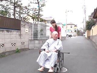 Gung-ho Japanese whore Akimi Horiuchi far outsider oldie JAV team of two
