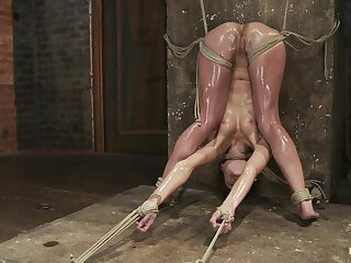 Amber Rayne not far from Amber Rayne Follow Stance Fastening 3 - Affinity And Fisted - HogTied