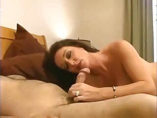 Taboo! Descendant fucks his through-and-through be in charge nurturer on touching hot creampie!