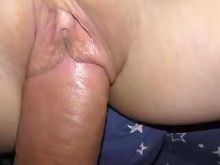 Fucked stepsister coupled with came adjacent to her tight-fisted pussy