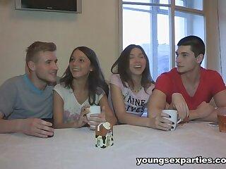 Edward & Wily Di & Ananta Shakti & Ricky nigh Girls Plot Boyfriends& Dicks - YoungSexParties