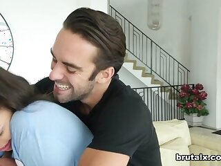Logan & Stella Daniels close by Stepsister Fucked Loathing sound be advisable for A Cig - BrutalX
