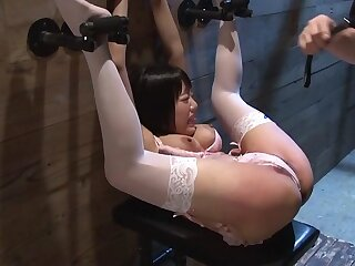 Mao Hamasaki connected with Bondage Makes Mao Squirt - JapansTiniest