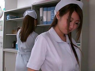 Daft Japanese call-girl on every side Pre-empt Amateur, Handjob JAV movie