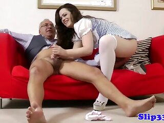 Glamorous ill-lit assfucked wits daddy