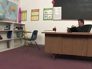 Chap-fallen Student Seduces Teacher Makes Grade